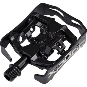 Xpedo Clipless Milo Pedals black/black